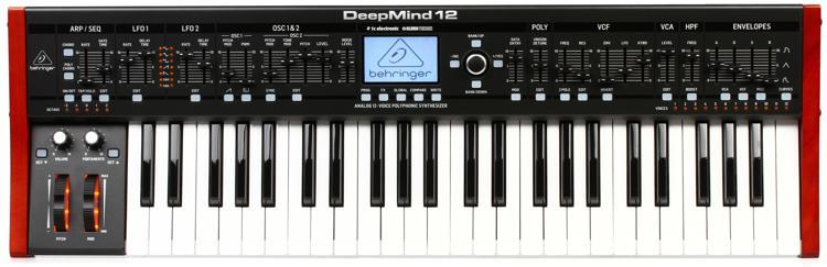 Behringer DeepMind 12 49-key 12-voice Analog Synthesizer image 1