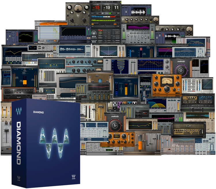 Waves Diamond Plug-in Bundle for Academic Institutions image 1