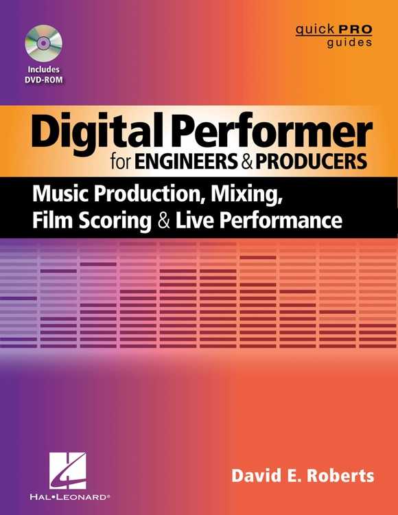 Hal Leonard Digital Performer for Engineers and Producers image 1