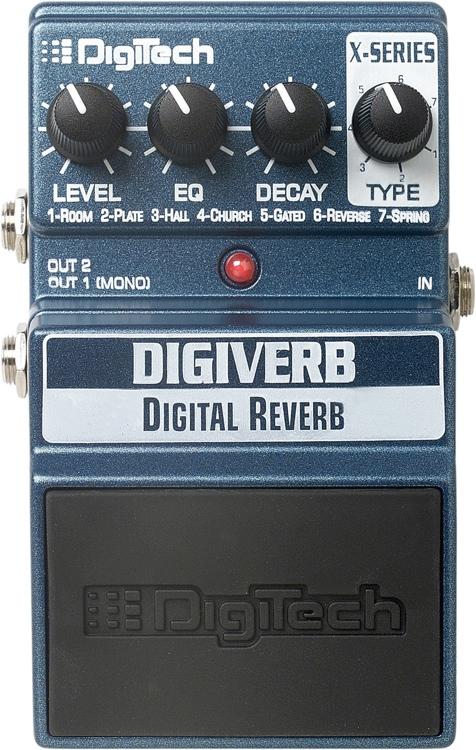 DigiTech DigiVerb - Reverb image 1