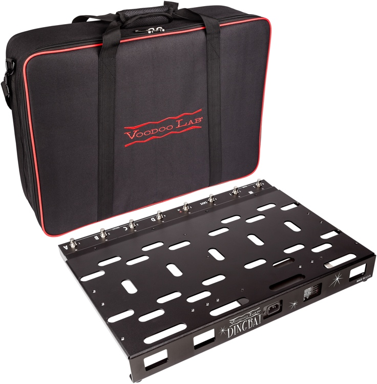 Voodoo Lab Dingbat Pedalboard PX Package - PX-8 Plus and Pedal Power 4x4 image 1