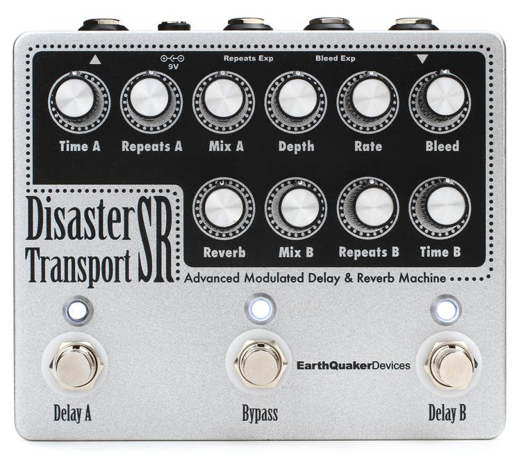 EarthQuaker Devices Disaster Transport Sr Advanced Modulated Delay & Reverb Pedal image 1