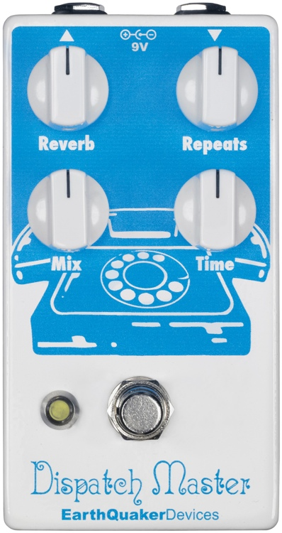 EarthQuaker Devices Dispatch Master V2 Delay and Reverb Pedal image 1