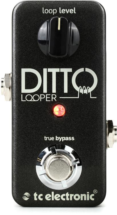 tc electronic ditto looper pedal sweetwater. Black Bedroom Furniture Sets. Home Design Ideas
