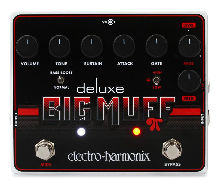 Electro-Harmonix Deluxe Big Muff Pi Fuzz Pedal with Mid-Shift image 1