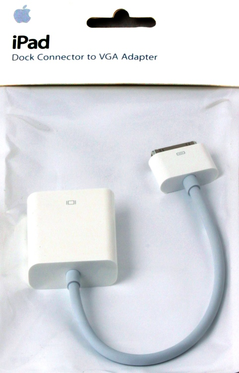 Apple iPad Dock Connector to VGA Adapter image 1