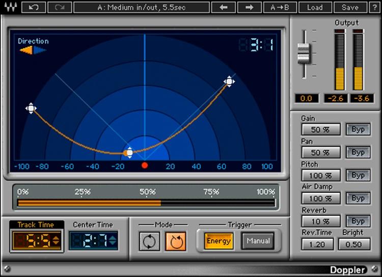 Waves Doppler Plug-in image 1