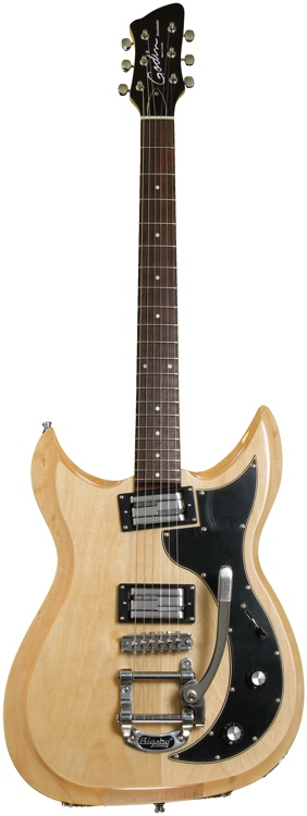 Godin Dorchester - Natural with Bigsby image 1
