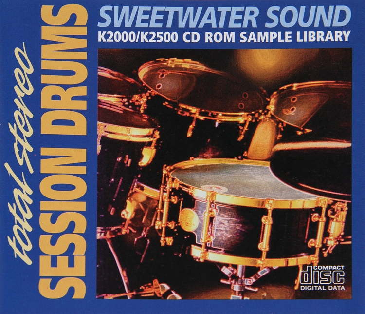 Sweetwater Stereo Drum CD image 1