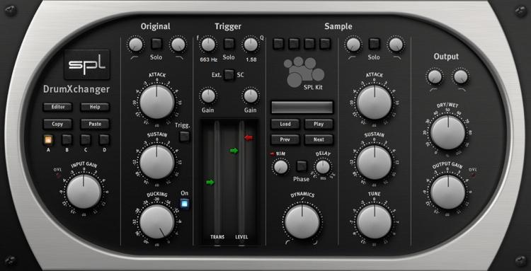 SPL DrumXchanger Plug-in image 1
