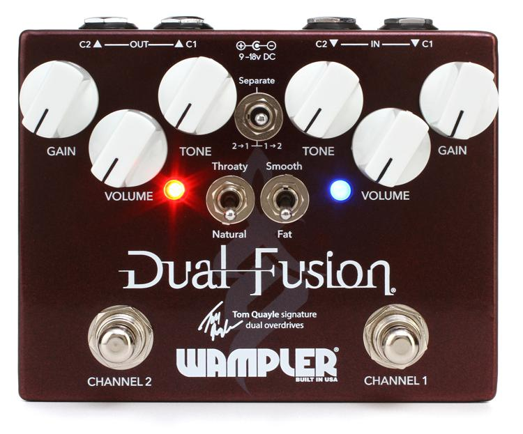 Wampler Tom Quayle Dual Fusion Overdrive image 1
