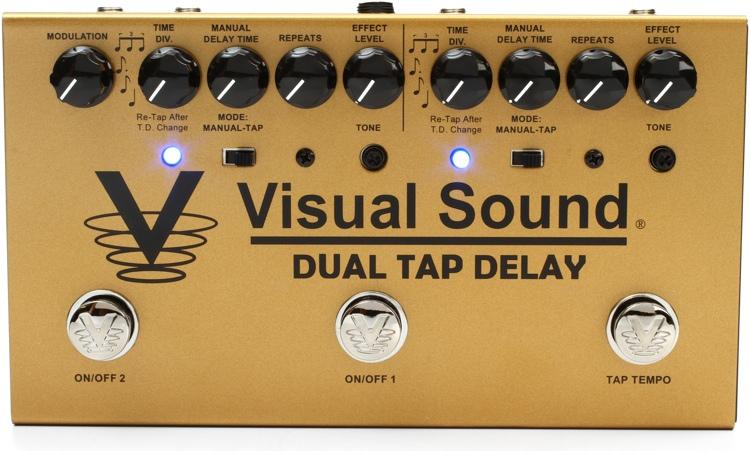 Visual Sound Dual Tap Delay Two-Channel Tap Tempo Delay Pedal image 1