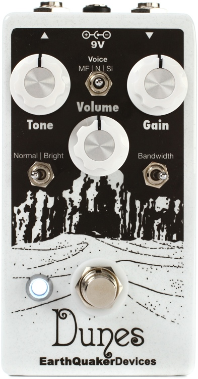 EarthQuaker Devices Dunes Mini Mega Ultimate Overdrive Pedal image 1
