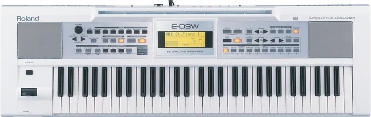Roland E-09 - White image 1