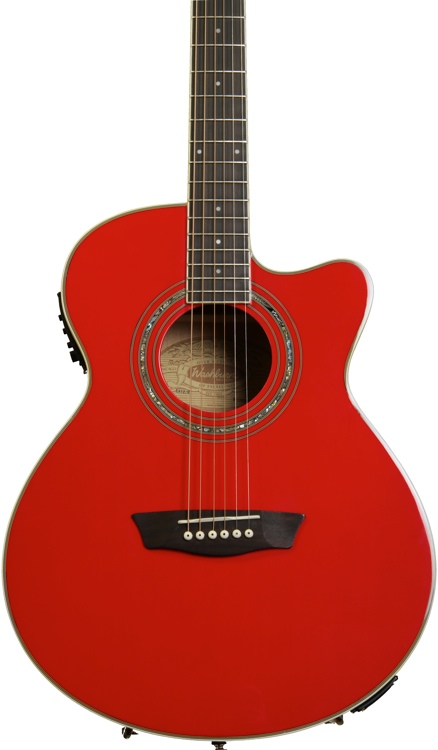 Washburn EA12 Mini Jumbo - Red image 1