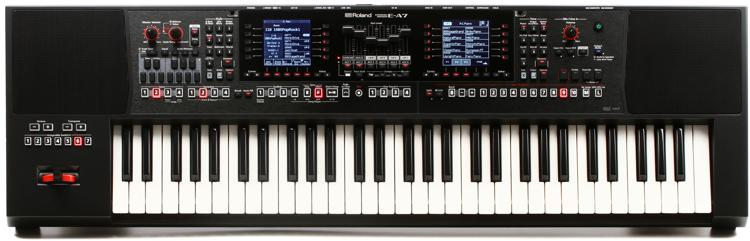 Roland E A7 61 Key Arranger Keyboard Sweetwater