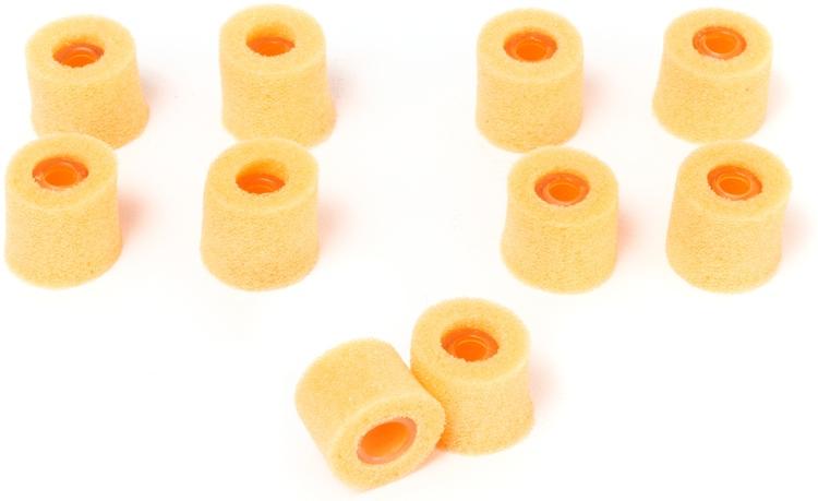 Shure EAORF2 - Orange Foam, Medium, 5 pair image 1