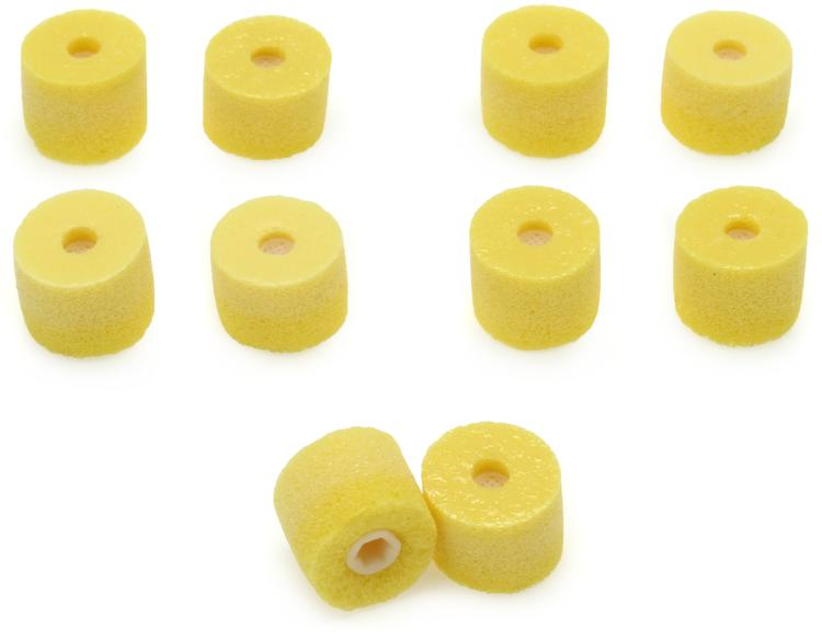 Shure EAYLF1 - Yellow Foam, Universal Fit, 5 pair image 1