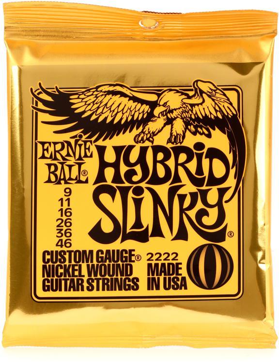 Ernie Ball 2222 Hybrid Slinky Nickel Wound Electric Strings image 1