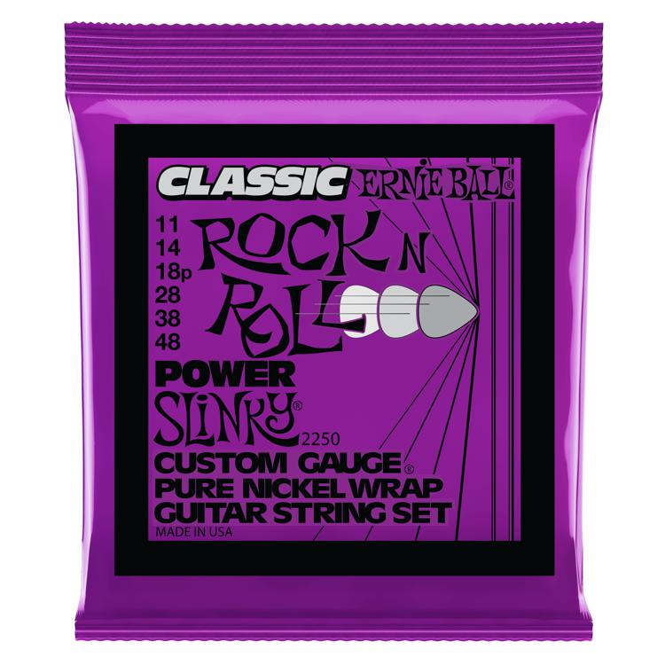 Ernie Ball 2250 Classic Power Slinky Pure Nickel Electric Strings image 1