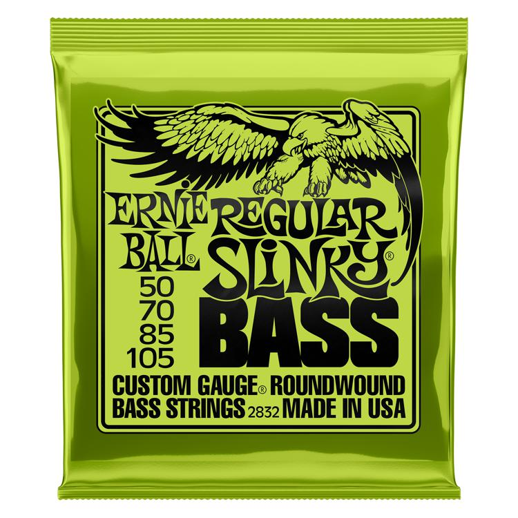 Ernie Ball 2832 Regular Slinky Roundwound Bass Strings image 1