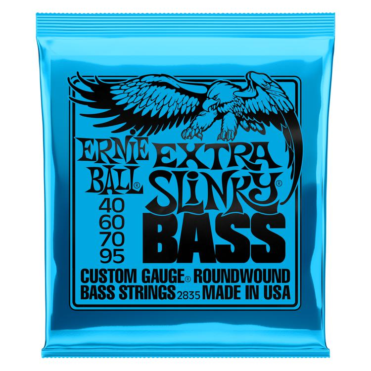Ernie Ball 2835 Extra Slinky Roundwound Bass Strings image 1