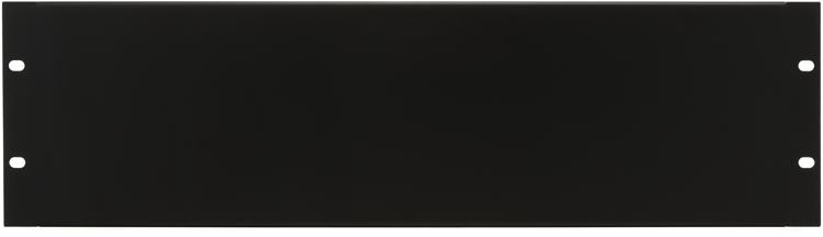 Middle Atlantic Products EB3 Flanged Steel Rack Panel - 3U image 1