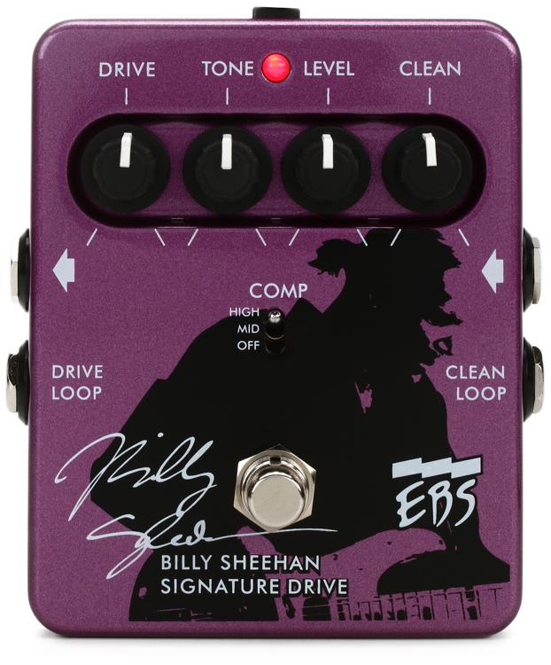 EBS EBS-DP Billy Sheehan Signature Drive Pedal image 1