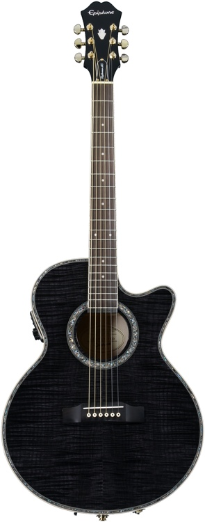 Epiphone Performer ME - Trans Black Maple Top image 1