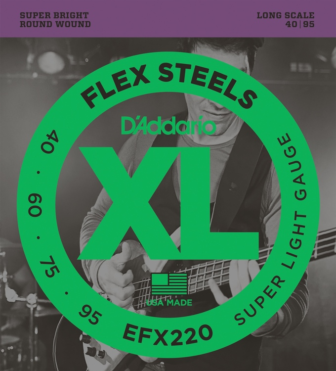 D\'Addario FlexSteels EFX220 - Super Light Gauge image 1