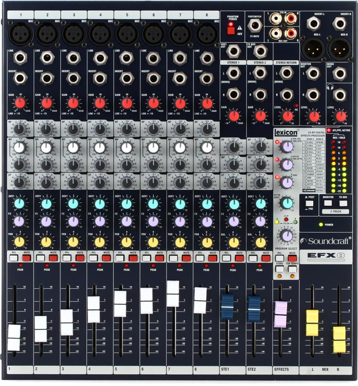 Soundcraft EFX8 image 1