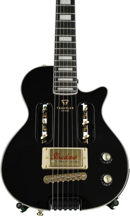 Traveler Guitar EG-1 Custom - Black image 1