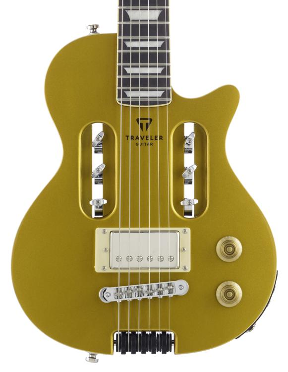 Traveler Guitar EG-1 Custom, Sweetwater Exclusive - Gold image 1