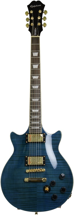 Epiphone Genesis Deluxe PRO - Midnight Sapphire image 1