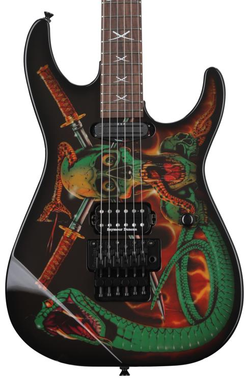 ESP George Lynch Signature - Skull and Snakes image 1