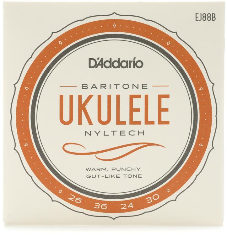 D\'Addario Nyltech Natural Nylon Ukulele Strings - Baritone image 1