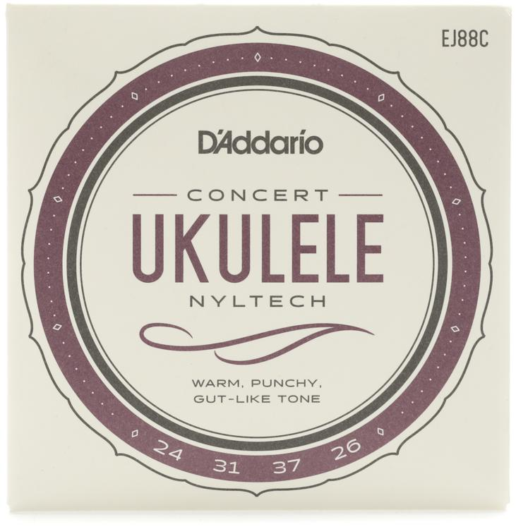 D\'Addario Nyltech Natural Nylon Ukulele Strings - Concert image 1