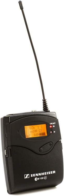 Sennheiser EK 100 G3 Wireless Receiver - A Band (516-558MHz) image 1