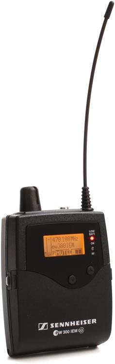 Sennheiser EK 300 IEM G3 - A-1 Band, 470MHz-516MHz image 1