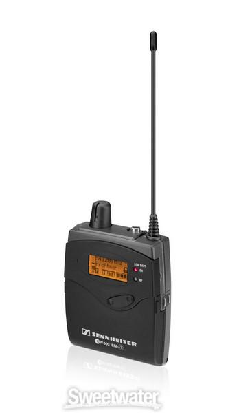 Sennheiser EK 300 IEM G3 - G Band, 566-608 MHz image 1