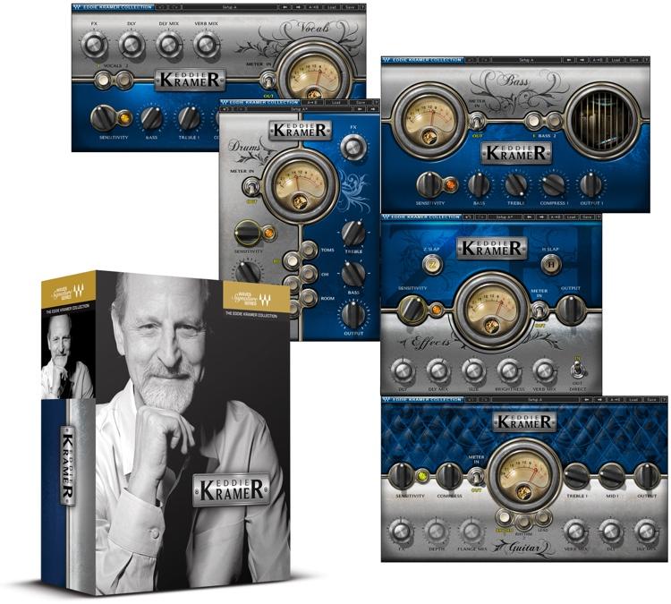 Waves Eddie Kramer Signature Collection Plug-in Bundle image 1