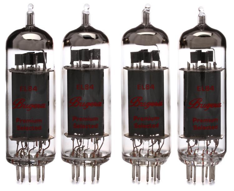 Bugera EL84 Power Tubes - Matched Quartet image 1