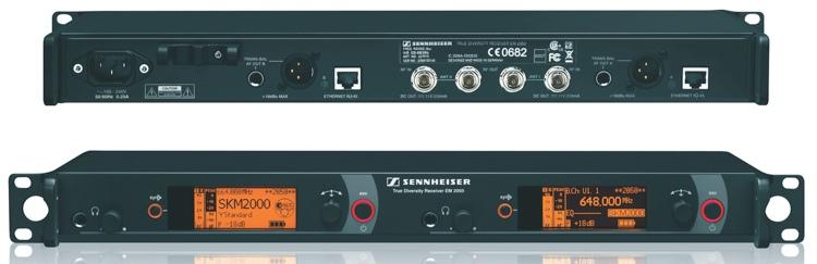 Sennheiser EM2050 - G Band, 558-626 MHz image 1