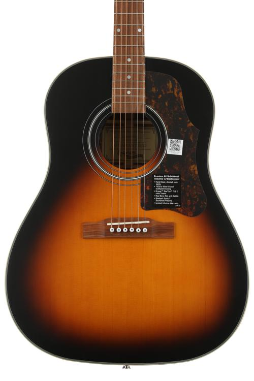epiphone masterbilt aj 45me vintage sunburst sweetwater. Black Bedroom Furniture Sets. Home Design Ideas