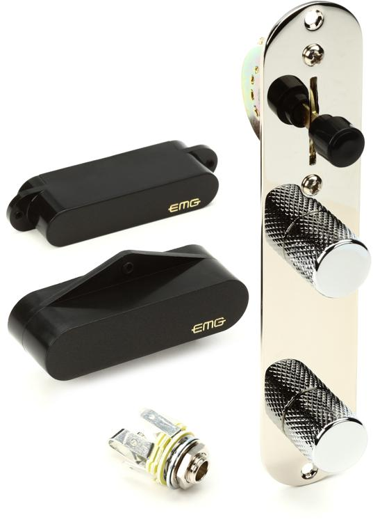 EMG T System - Tele Pickup Set Black image 1