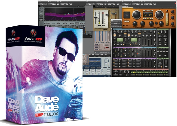Waves Dave Aude EMP Toolbox Plug-in Bundle image 1