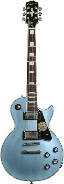 Epiphone Limited Edition Les Paul Custom Pro - TV Pelham Blue image 1