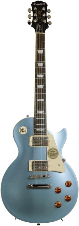 Epiphone Sweet-Mod Les Paul Standard - Pelham Blue, Plek\'d image 1