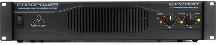 Behringer Europower EP2000 Power Amplifier image 1
