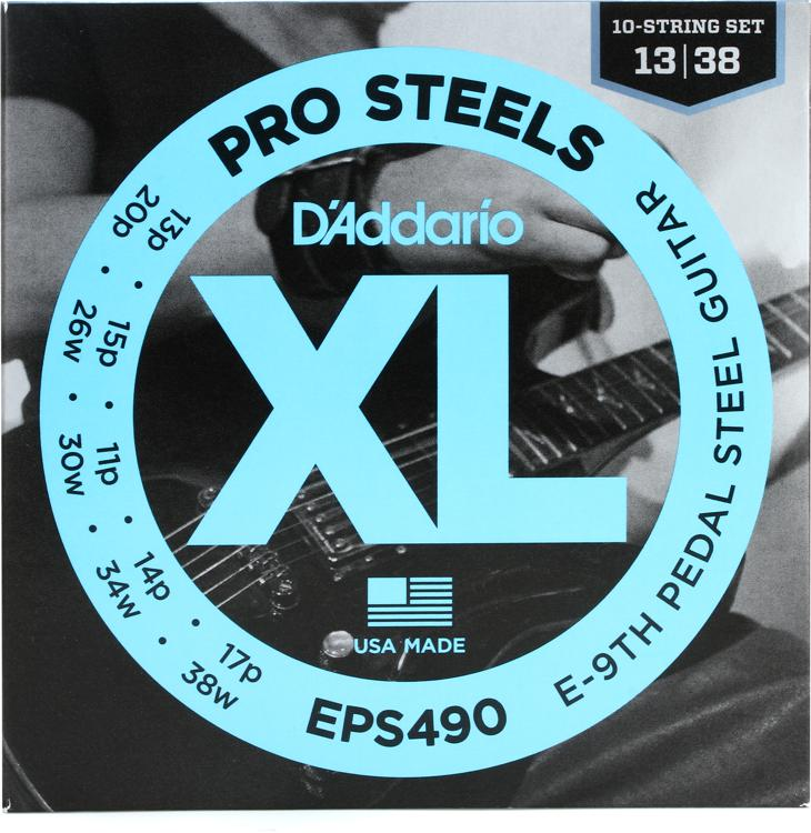 D\'Addario EPS490 E-9th Pedal Steel Strings image 1